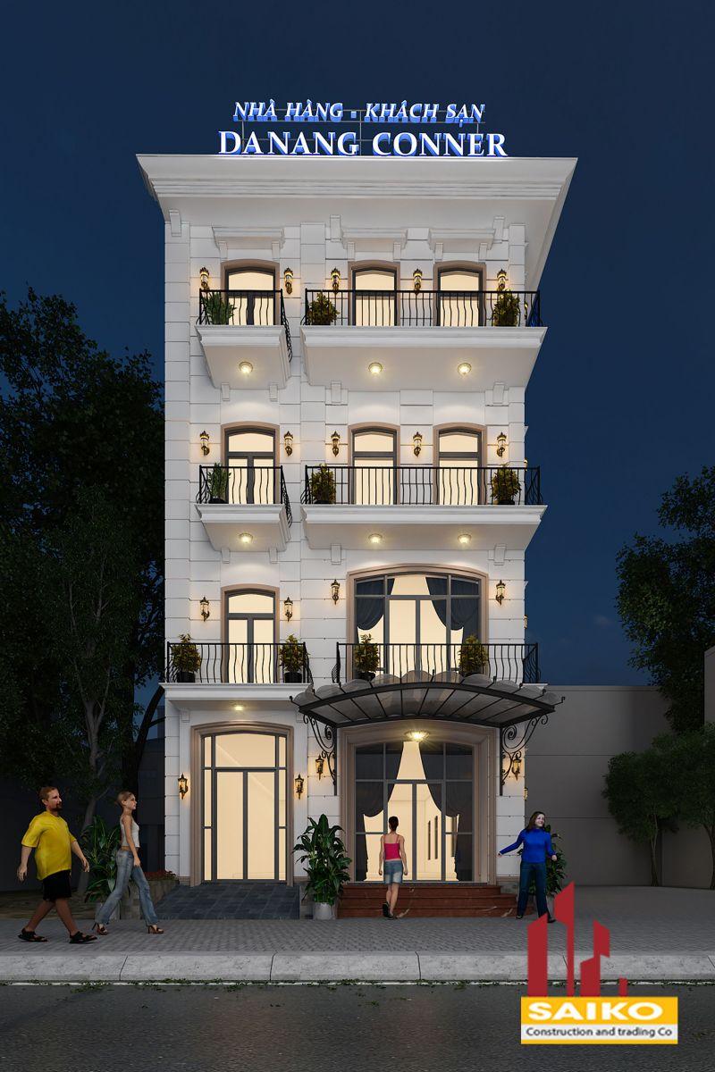 Dự án Nhà hàng-khách sạn DA NANG CONNER