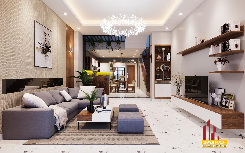 Thiết kế thi công nội thất TAN'S HOUSE